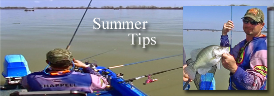 Tips for Summer Crappie