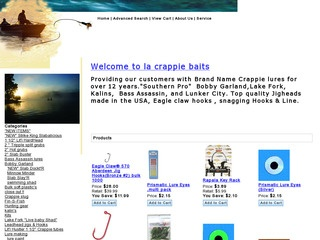 L.A. Crappie Baits